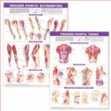 Trigger Point Chart Set Paper, Anatomical Chart Company Staff, 0781773067
