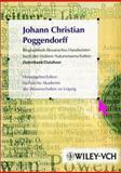 Biographisch-Literarisches Handworterbuch der Exakten Naturwissenschaften Datenbank Cdx6, Poggendorff, Johann C., 352740306X