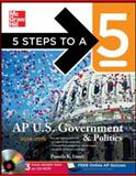 5 Steps to a 5 AP US Government and Politics with CD-ROM, 2014-2015 Edition, Lamb, Pamela, 0071803068
