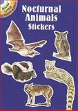 Nocturnal Animals Stickers, Ruth Soffer, 0486403068