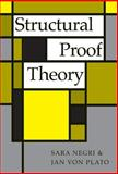Structural Proof Theory, Negri, Sara and Von Plato, Jan, 0521793076
