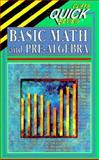 Basic Math and Pre-Algebra Quick Review, Bobrow, Jerry, 0822053071
