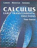 Calculus : Early Transcendental Functions, Edwards, Bruce H. and Hostetler, Robert P., 061822307X