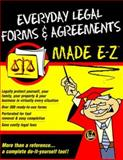 Everyday Legal Forms and Agreements Made E-Z, E-Z Legal Staff, 1563823071