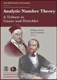 Analytic Number Theory : A Tribute to Gauss and Dirichlet, , 0821843079