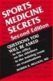 Sports Medicine Secrets, Mellion, Morris B., 1560533080