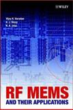 RF MEMS and Their Applications, Varadan, Vijay K. and Jose, K. A., 047084308X