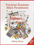 Practical Business Math Procedures w/ DVD, Business Math Handbook, and Wall Street Journal Insert, Slater, Jeffrey, 0073133086