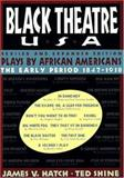 Black Theatre USA Revised and Expanded Edition, Vol. 1, Ted Shine, 068482308X