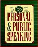 Personal and Public Speaking 9780895823090