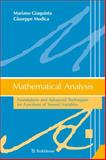 Mathematical Analysis : Foundations and Adavanced Techniques for Functions of Several Variables, Giaquinta, Mariano and Modica, Giuseppe, 0817683097