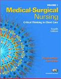 Medical Surgical Nursing Volum, LeMone, Priscilla and Burke, Karen M., 0131713094