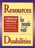 Resources for People with Disabilities : A National Directory, , 0894343092