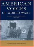 American Voices of World War I, , 1579583091