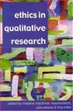 Ethics in Qualitative Research 9780761973096