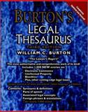 Burton's Legal Thesaurus, Burton, William C., 0071373098