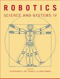 Robotics : Science and Systems IV, Brock, Oliver, 0262513099