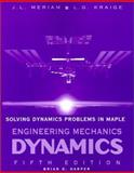 Solving Dynamics Problems with Maple, Harper, Brian, 0471203106