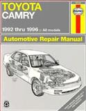 Toyota Camry (92-96) Automotive Repair Manual, Robert Maddox and J. H. Haynes, 1563923106