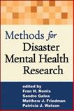 Methods for Disaster Mental Health Research, , 1593853106
