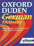 The Oxford-Duden German Dictionary, Oup Staff, 0192683101