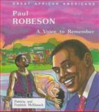 Paul Robeson, Patricia C. McKissack and Fredrick L. McKissack, 0894903101