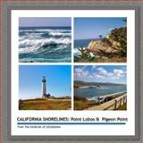 CALIFORNIA SHORELINES: Point Lobos and Pigeon Point, Joseph Gill, 1499193106