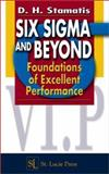 Six Sigma and Beyond, Stamatis, D. H., 1574443119