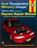 Ford Thunderbird and Mercury Cougar, 1989-1997, Ken Freund and John Haynes, 1563923114