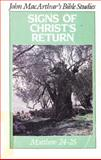 Signs of Christ's Return, John J. MacArthur, 0802453112