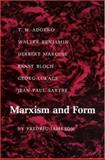 Marxism and Form - 20th-Century Dialectical Theories of Literature, Jameson, Fredric, 069101311X