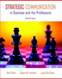 Strategic Communication in Business and the Professions, O'Hair, Dan and Friedrich, Gustav W., 0205693113