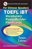 TOEFL iBT Vocabulary PowerBuilder Flashcards : For Chinese Speakers, Hu, Lucia, 0738603112