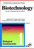Biotechnology, Biological Fundamentals, , 3527283110