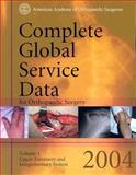 Complete Global Service Data for Orthopaedic Surgery 2004, Aos Committee On Cpt/Icd Coding, 0892033118