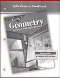 Geometry Skills Practice Workbook : Concepts and Applications, McGraw-Hill Education, 0078693128