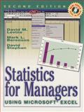 Statistics for Managers Using Microsoft Excel, Berenson and Levine, Laura, 0130203122