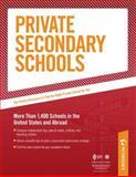 Private Secondary Schools 2011-2012, Peterson's, 0768933129