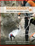 Management : Challenges for Tomorrow's Leaders, Lewis, Pamela S. and Goodman, Stephen H., 0324783124