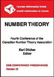 Number Theory : Fourth Conference of the Canadian Number Theory Association, , 0821803123