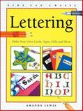 Lettering, Amanda Lewis, 1550743120