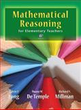 Mathematical Reasoning for Elementary School Teachers, Long, Calvin T. and DeTemple, Duane W., 0321693124