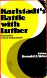 Karlstadt's Battle with Luther, Andreas Rudolf Karlstadt, 0800613120