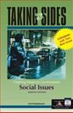 Taking Sides : Clashing Views on Controversial Social Issues, Finsterbusch, Kurt, 0072933135