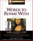 Words to Rhyme With, Espy, Willard R., 0816043132