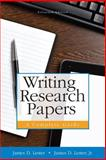 Writing Research Papers : A Complete Guide (spiral) with NEW MyWritingLab with Pearson EText -- Access Card Package, Lester (Deceased), James D. and Lester, Jr., James D., James D, 0321993136