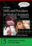 Skills and Procedures for Medical Assistants : Taking Measurements and Vital Signs, with Closed Captioning, Delmar Learning Staff, 143541313X