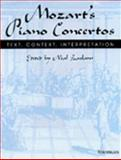 Mozart's Piano Concertos : Text, Context, Interpretation, , 0472103148