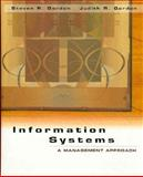 Information Systems : A Management Approach, Gordon, Steven R. and Gordon, Judith R., 0030163145