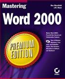 Mastering Word 2000, Ron Mansfield and J. W. Olsen, 0782123147